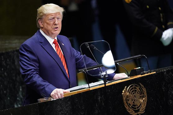 Trump, at the UN, denounces Iran but says there is a path to peace