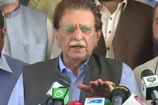 AJK PM visits earthquake affected areas, reviews relief efforts