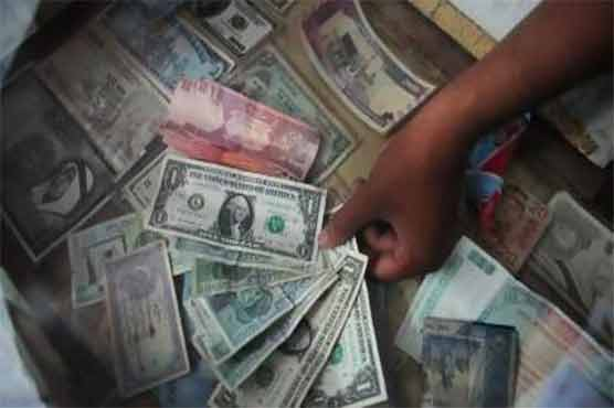 US dollar registers fresh gains against rupee in interbank and open market