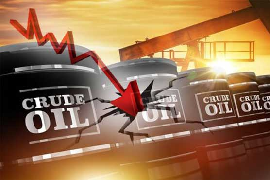 Oil price goes negative as demand collapses