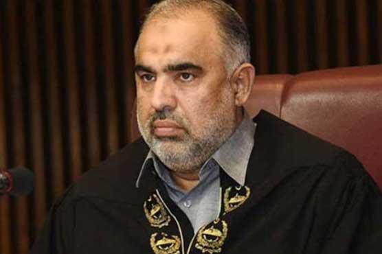 NA Speaker Asad Qaiser tested positive for coronavirus