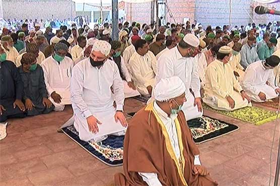 Political leaders offer Eid prayers with simplicity