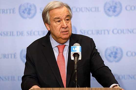 U.N. chief warns world facing 'generational catastrophe' on education