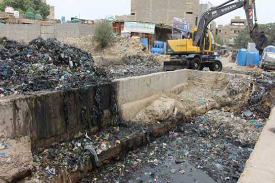 Over 20,000 tonnes sludge removed from Karachi's choked waterways