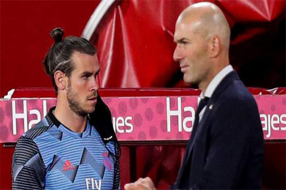 Zidane says Bale asked not to play for Madrid at Man City