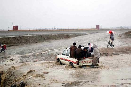 Nine killed as heavy rain wreaks havoc in Balochistan