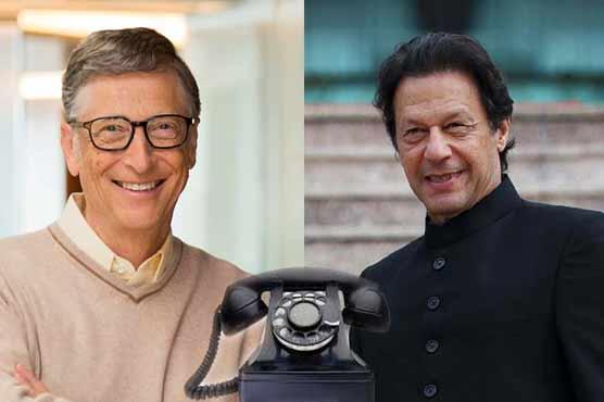 PM Imran, Bill Gates discuss latest developments regarding COVID-19, polio eradication