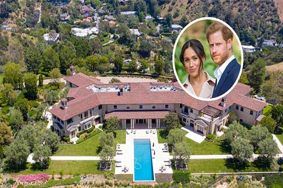prince harry and meghan move to new california family home world dunya news prince harry and meghan move to new