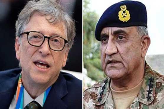 COAS Bajwa, Bill Gates discuss Pakistan's COVID-19 response, polio campaign resumption