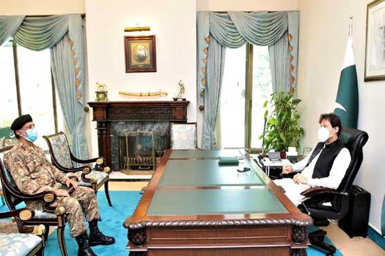 DG SPD Nadeem Zaki Manj calls on Imran Khan