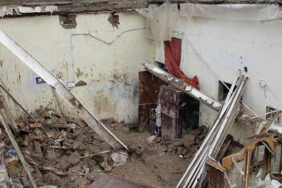 Four including children die as roof collapses after rain in Lahore