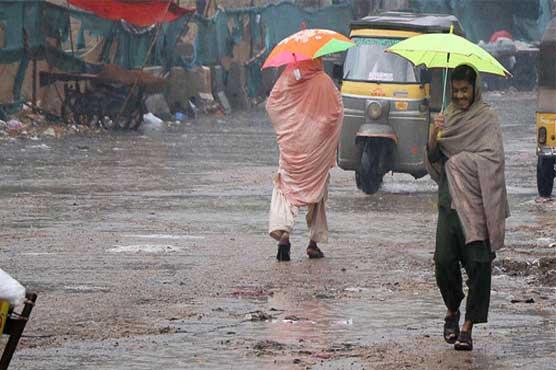 Monsoon rain lashes all four provinces of Pakistan