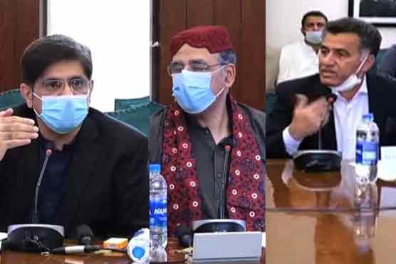 Civil-Military leadership attends Karachi Coordination Committee meeting