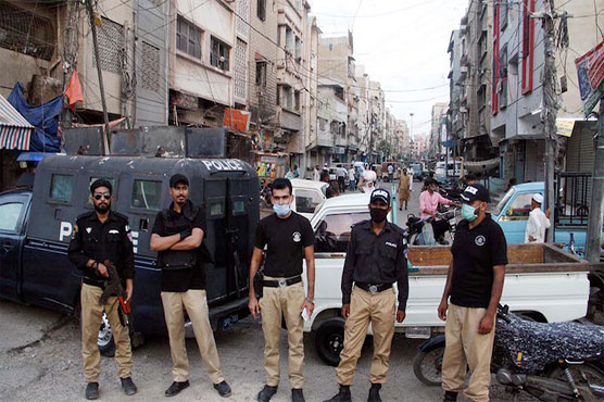 Smart lockdown imposed in 13 areas of Karachi's District West