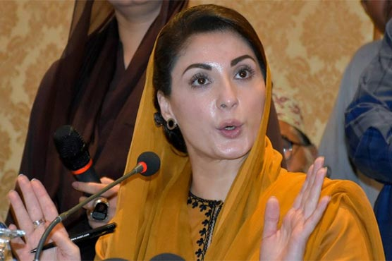 Scared PM Imran is sure his govt is going home: Maryam Nawaz