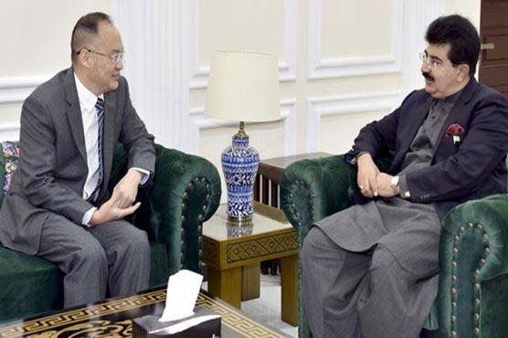 CPEC to bring prosperity, development to region: Sanjrani