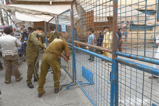 Punjab Govt enforces smart lockdown in 55 areas of Lahore