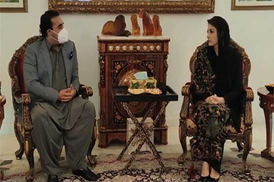 Bilawal Bhutto, Maryam Nawaz discuss PDM's anti-govt rally in Lahore
