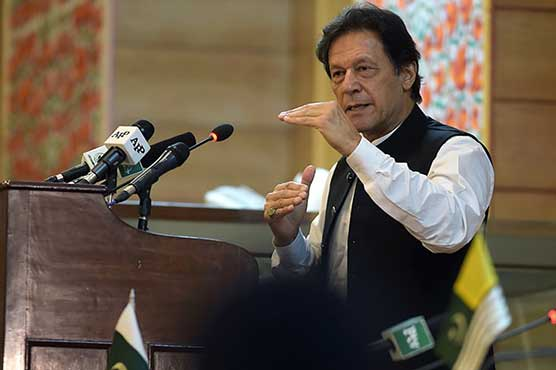 PM Imran launches Sehat Sahulat Program for AJK