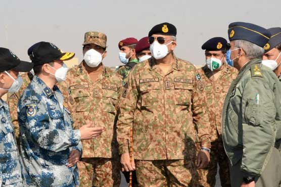 Pak-China joint exercise will improve combat capacity of both Air Forces: COAS