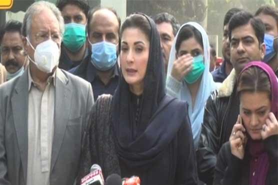 No dialogue with fake govt: Maryam Nawaz
