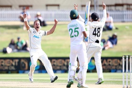 New Zealand beat Pakistan in 1st Test by 101 runs despite fightback by Fawad, Rizwan