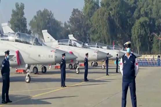 14 dual-seat JF-17 aircrafts inducted in PAF's fleet