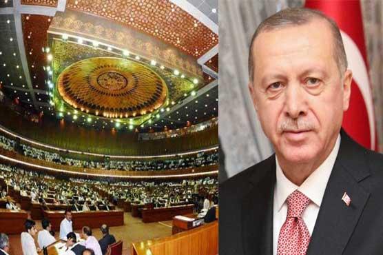 Turkish President Erdogan to address NA session on Feb 14