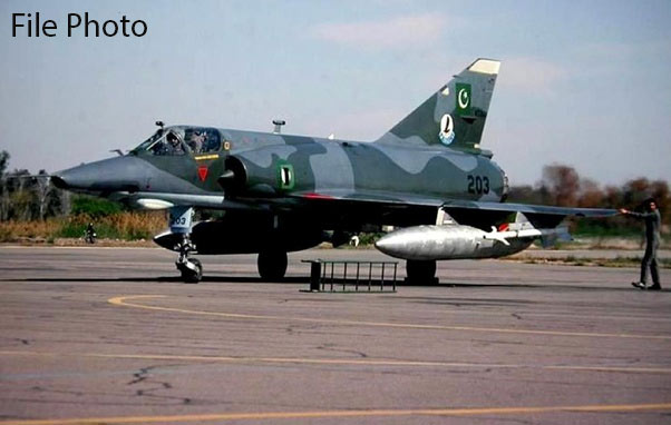 PAF trainer jet crashes near Shorkot