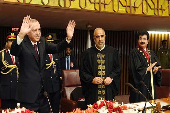 We feel for Kashmir the same way Pakistanis do: Erdogan addresses Parliament