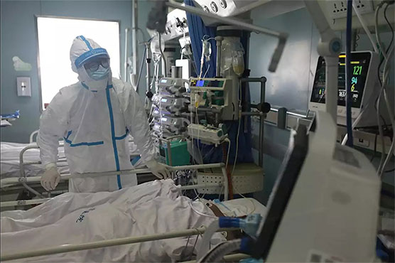 China virus toll reaches 1,765, says govt