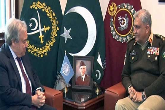 UN chief commends improved security situation in Pakistan