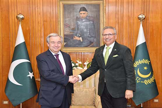 President underlines UN obligation to implement its Security Council resolutions on Kashmir issue