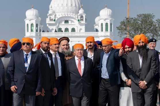 UN chief terms Kartarpur corridor a 'corridor of hope'