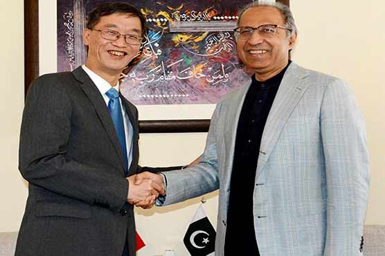 Hafeez Shaikh thanks China for supporting Pakistan in FATF