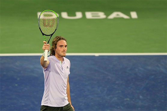 Tsitsipas moves into 2nd round of Dubai Championships