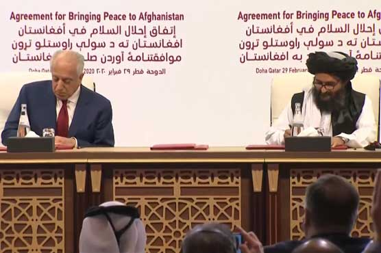US, Taliban sign historic Afghanistan peace deal