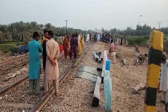 18 dead in train, bus collision in Pakistan