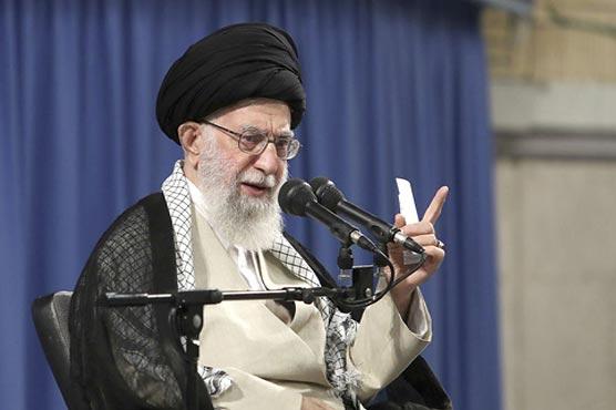 Iran's Khamenei condemns US 'malice' over Iraq strikes