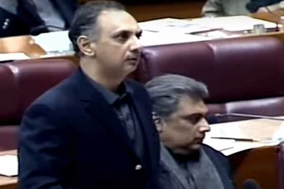 Omar Ayub blames PMLN, PPP for power shortages