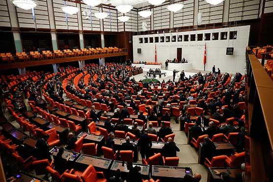 Turkey parliament approves Libya military deployment