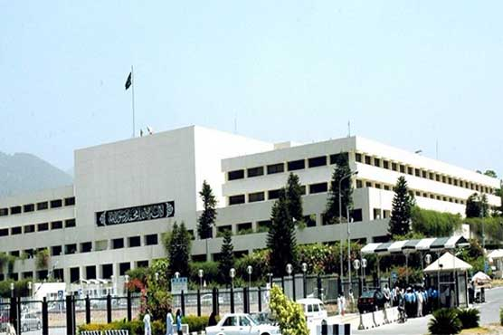 Senate, NA sessions rescheduled for Monday