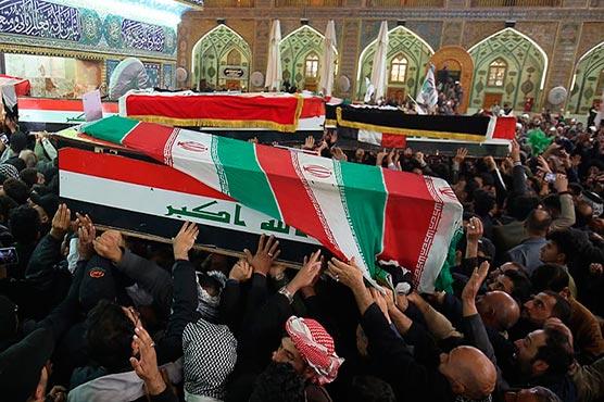 Mourners pack Iran city as top general Qasem Soleimani's remains return