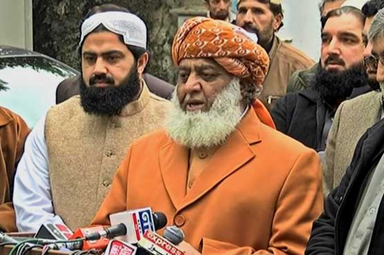 Chaudhry Brothers failed to get Fazalur Rehman's support on amendment in Army Act