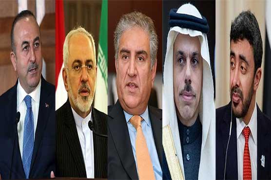 FM Qureshi telephones Iranian, Saudi, Turkish, UAE counterparts amid rising Mideast tensions