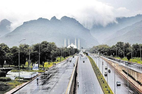 Parts of country receiving intermittent rain