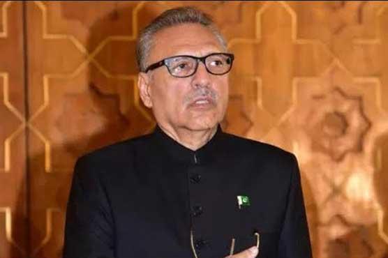 President Alvi promulgates Army Act Amendment Bill