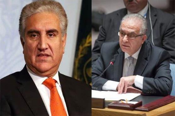 FM Qureshi discusses US-Iran matter with Iraqi counterpart