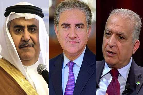 Qureshi telephones Iraqi, Bahraini counterparts over Mideast tensions