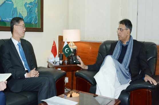 Works on CPEC projects to be accelerated in 2020: Asad Umar